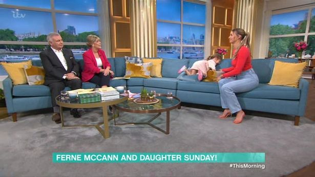 ferne mccann talking about conscious parenting on this morning