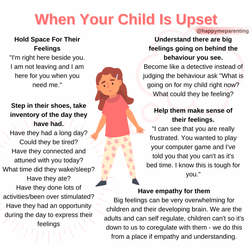 how to help your child when they have a tantrum